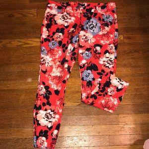 Gap printed pants